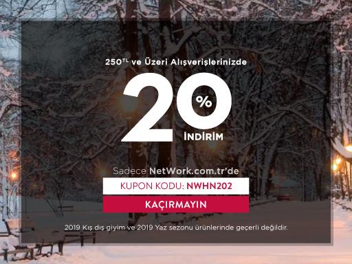 % 20 NetWork İndirim Kodu