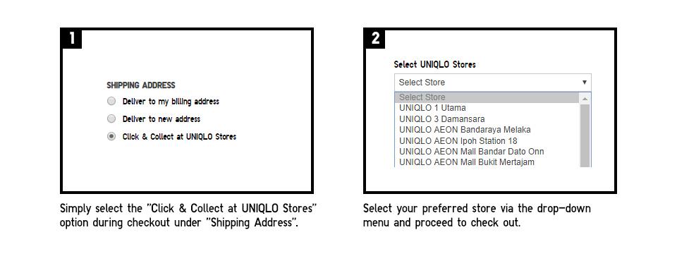Click Collect Has Online Uniqlo